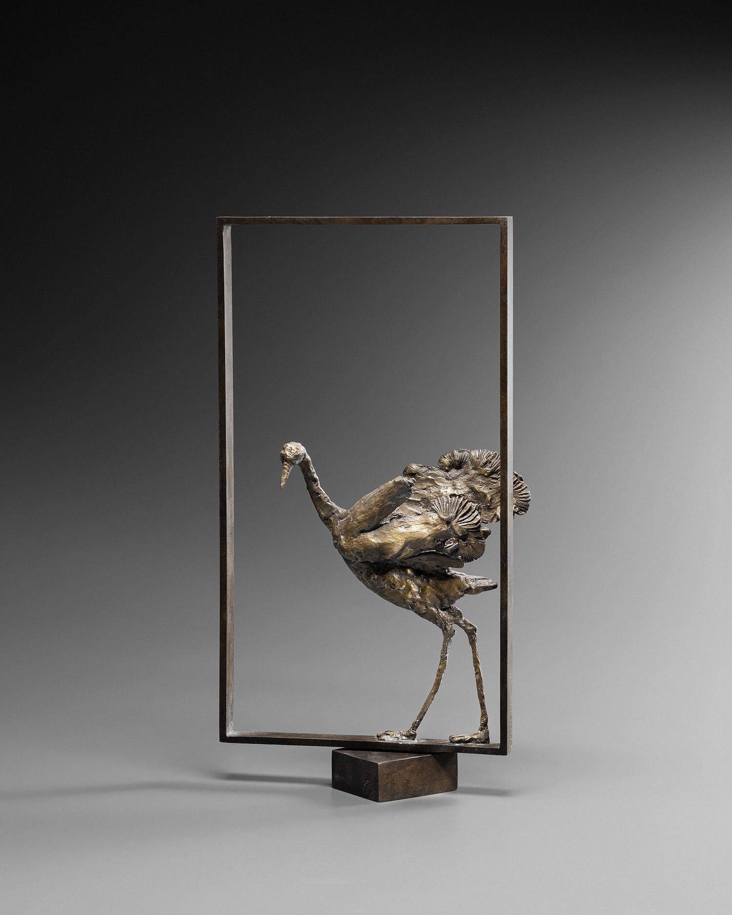 8-Guillemin-Danse-a-Hokkaido-profil-gauche-galerie-bettina-art-contemporain-paris