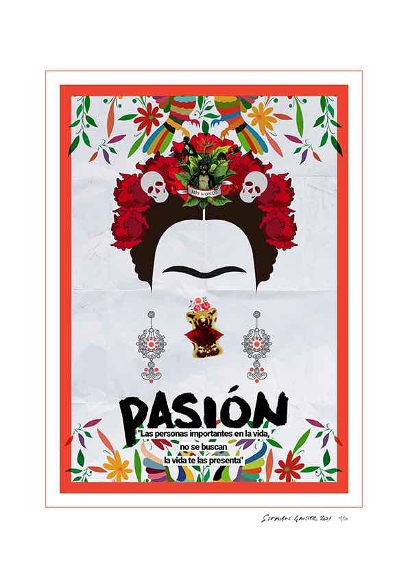 Happy Print Frida